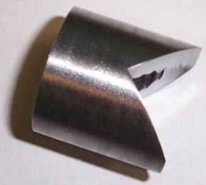 7/16 - 20 UNF 316L Stainless Steel Light Duty Weld Nut