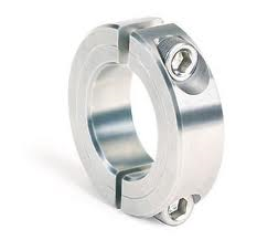 "3 7/16"" 303 Stainless Steel Double Split Shaft Collar"