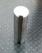 "4 15/16"" x 12"" long 1045 TG & P Keyed Shaft"