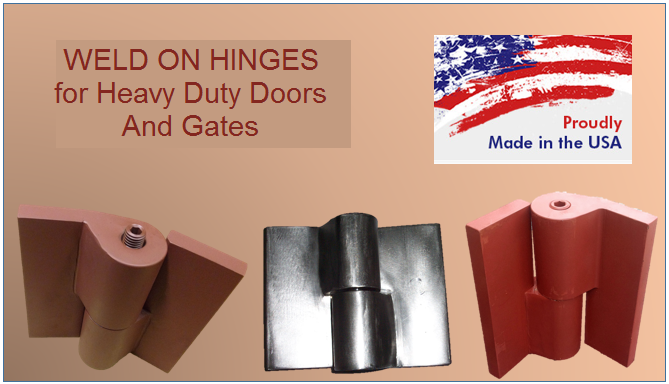 All in one heavy duty hinges