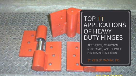 Heavy Duty Hinges Application