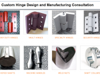 Custom Hinges