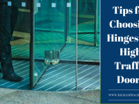 Heavy Duty Hinges for High Traffic Doors