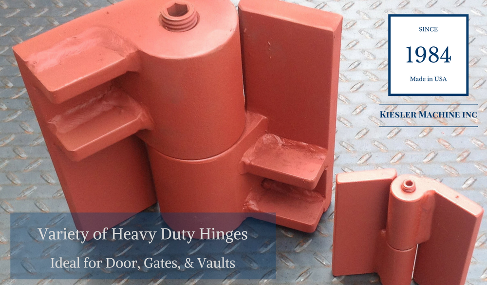 Understanding Different Types of Heavy Duty Hinges
