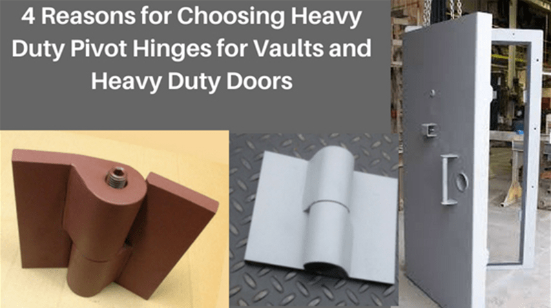 Heavy Duty Pivot Hinges- kieslermachine