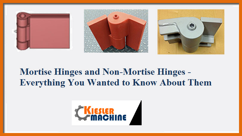 mortise and non mortise hinges