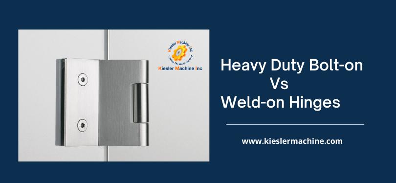 Heavy Duty Weld-on Hinges